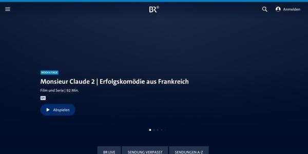 Screenshot von www.br.de
