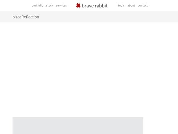 Screenshot of www.braverabbit.com