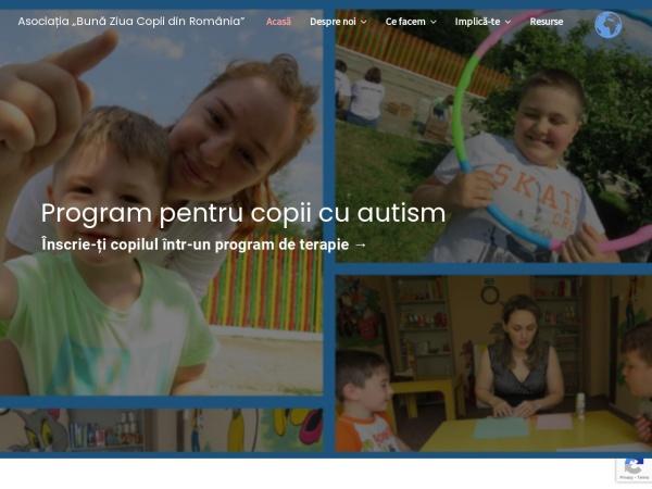 Screenshot of www.bunaziuacopii.ro