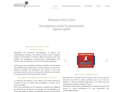 Détective privé Paris – Cabinet Pannaud investigations et enquêtes civiles et commerciales en France et à l'étranger