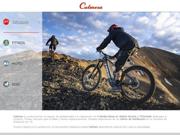 Captura de pantalla de www.calmera.es