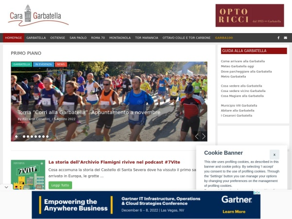Screenshot of www.caragarbatella.it