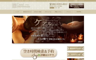Screenshot of www.carel-tokyo.com