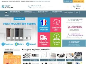 100 % Volet Roulant : une boutique en ligne de proximité pour l'achat de pièces détachées de volets roulants