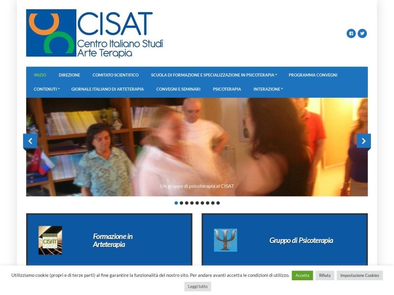 In linea il nuovo sito del CISAT, Centro Italiano Studi Arte-Terapia