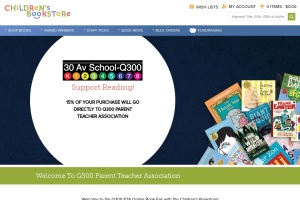 Screenshot of www.childrensbookstore.com