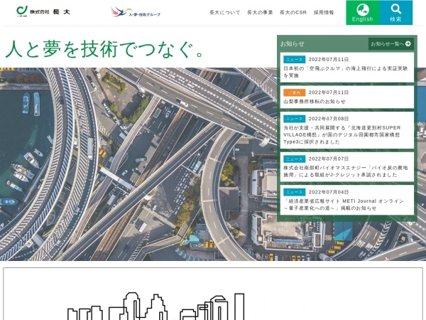 Screenshot of www.chodai.co.jp