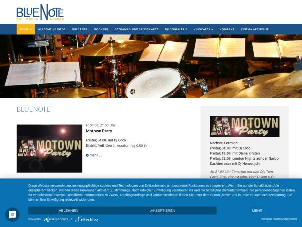 Screenshot von www.cinema-arthouse.de