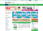 Screenshot of www.city.annaka.lg.jp