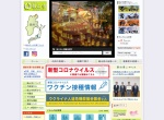 Screenshot of www.city.iiyama.nagano.jp