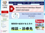 Screenshot of www.city.koto.lg.jp