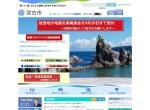 Screenshot of www.city.miyako.iwate.jp