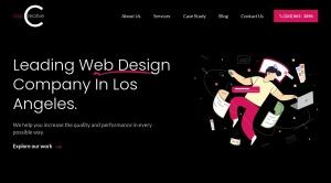 Screenshot of www.clapcreative.com