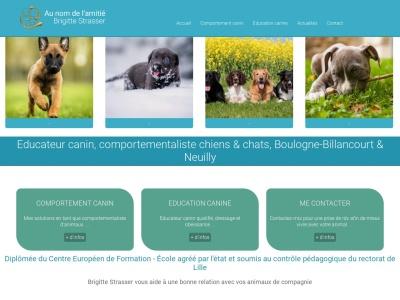Quel professionnel canin contacter en région pariseinne en cas de problème avec votre chien?
