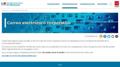 Correo electrónico corporativo - Comunidad de Madrid  