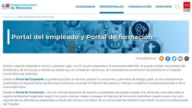 Portal del empleado y Portal de formación - Comunidad de ...