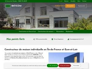 BATICOM, un constructeur pas comme les autres en Île-de-France et en Eure-et-Loir pour vos travaux de construction et de rénovation