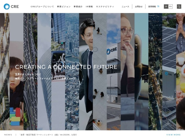 Screenshot of www.cre-jpn.com