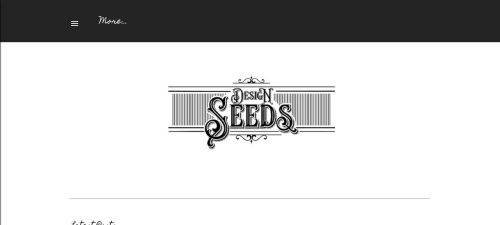Screenshot of www.design-seeds.com
