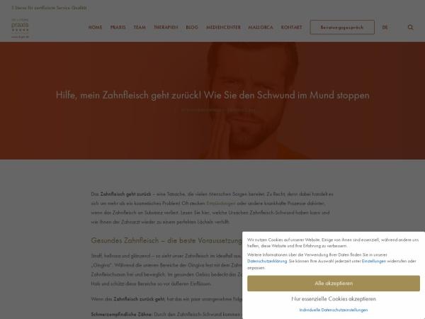 Screenshot von www.drgal.de