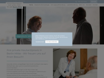 Screenshot von www.drkirstenboehm.de