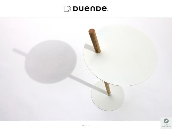 Screenshot of www.duende.jp