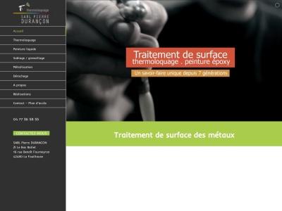 Pierre Durançon : le spécialiste du traitement des surfaces à Saint Etienne et à Lyon