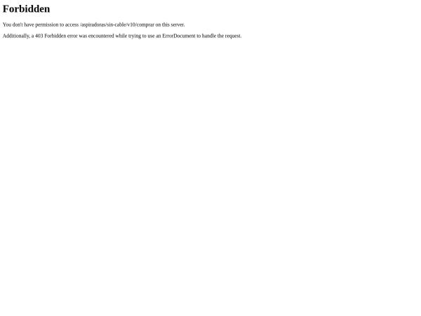Captura de pantalla de www.dyson.es