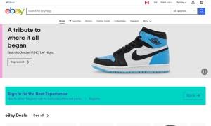 eBay Canadaウェブサイトサムネイル
