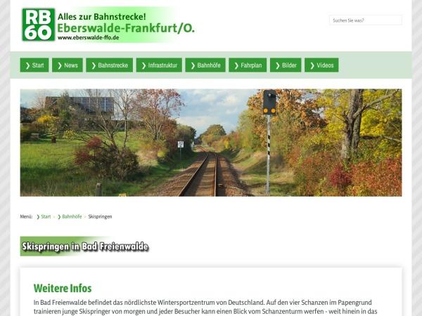 Screenshot von www.eberswalde-ffo.de