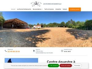 Centre équestre de référence à Manneville pour la pratique de l'équitation et la formation