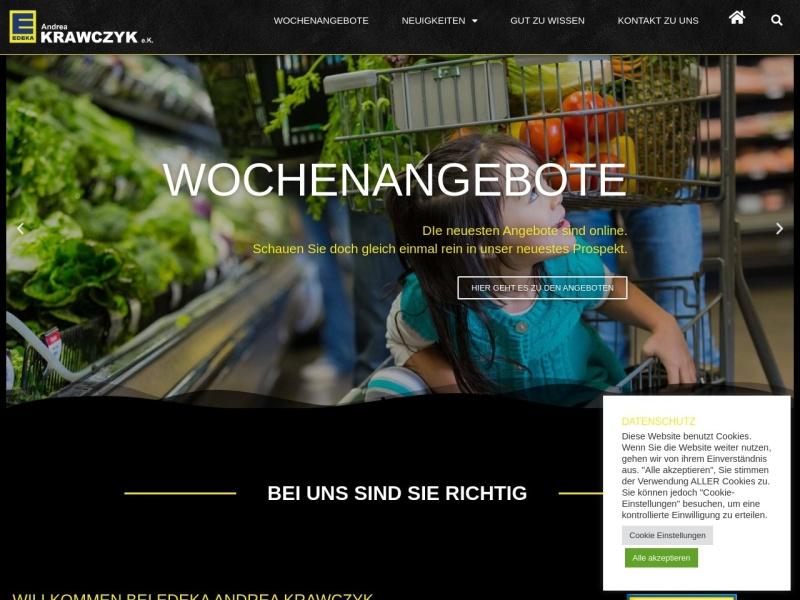 Screenshot von www.edeka-schwabach.de
