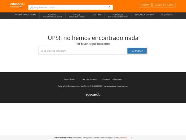 Captura de pantalla de www.educaedu-colombia.com