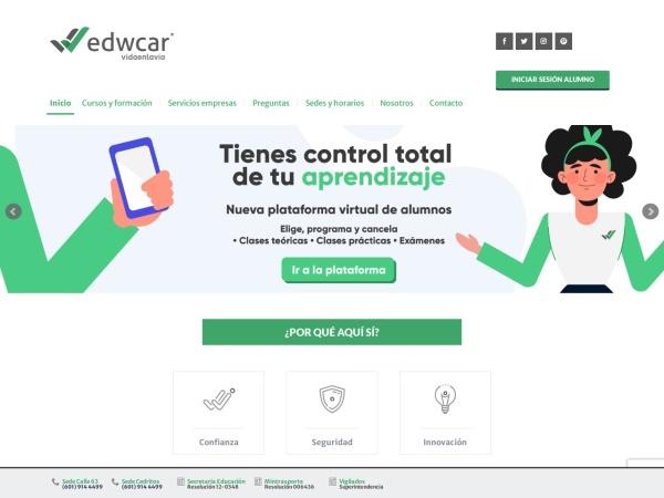 Captura de pantalla de www.edwcar.com