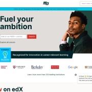 Screenshot of www.edx.org