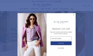 Elie Tahariウェブサイトサムネイル