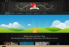 Screenshot of www.ellens-blog.de