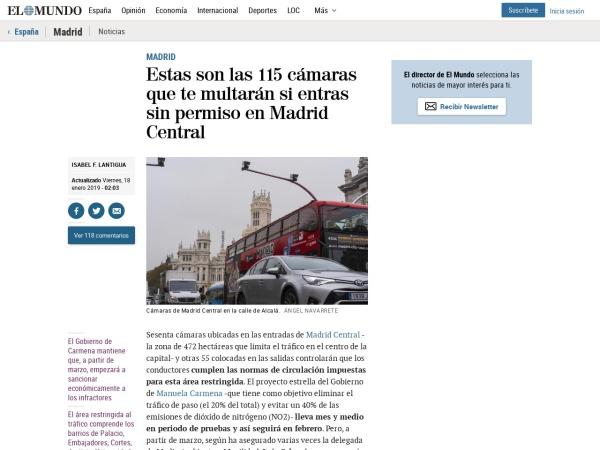 Captura de pantalla de www.elmundo.es