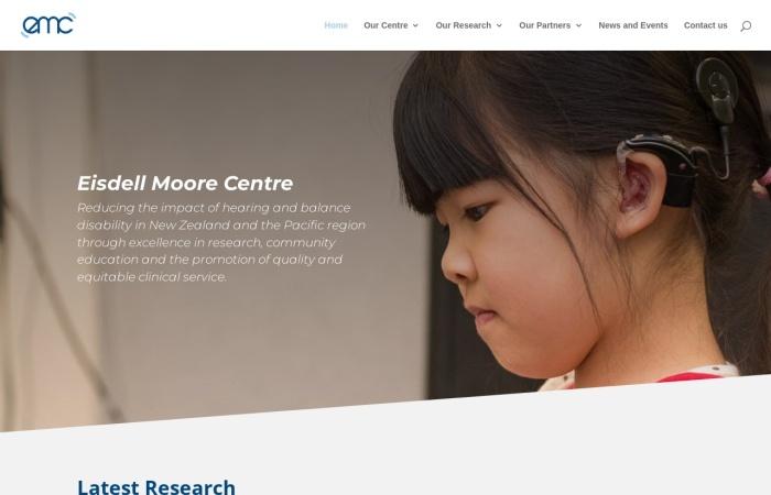 Screenshot of www.emcentre.ac.nz