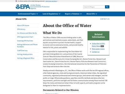 https://www.epa.gov/aboutepa/about-office-water