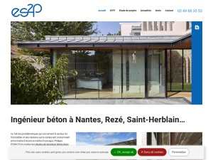 ES²P, le bureau d'étude de structures en béton de référence à Nantes et ses environs