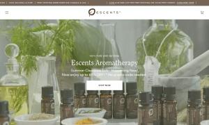 Escentsウェブサイトサムネイル