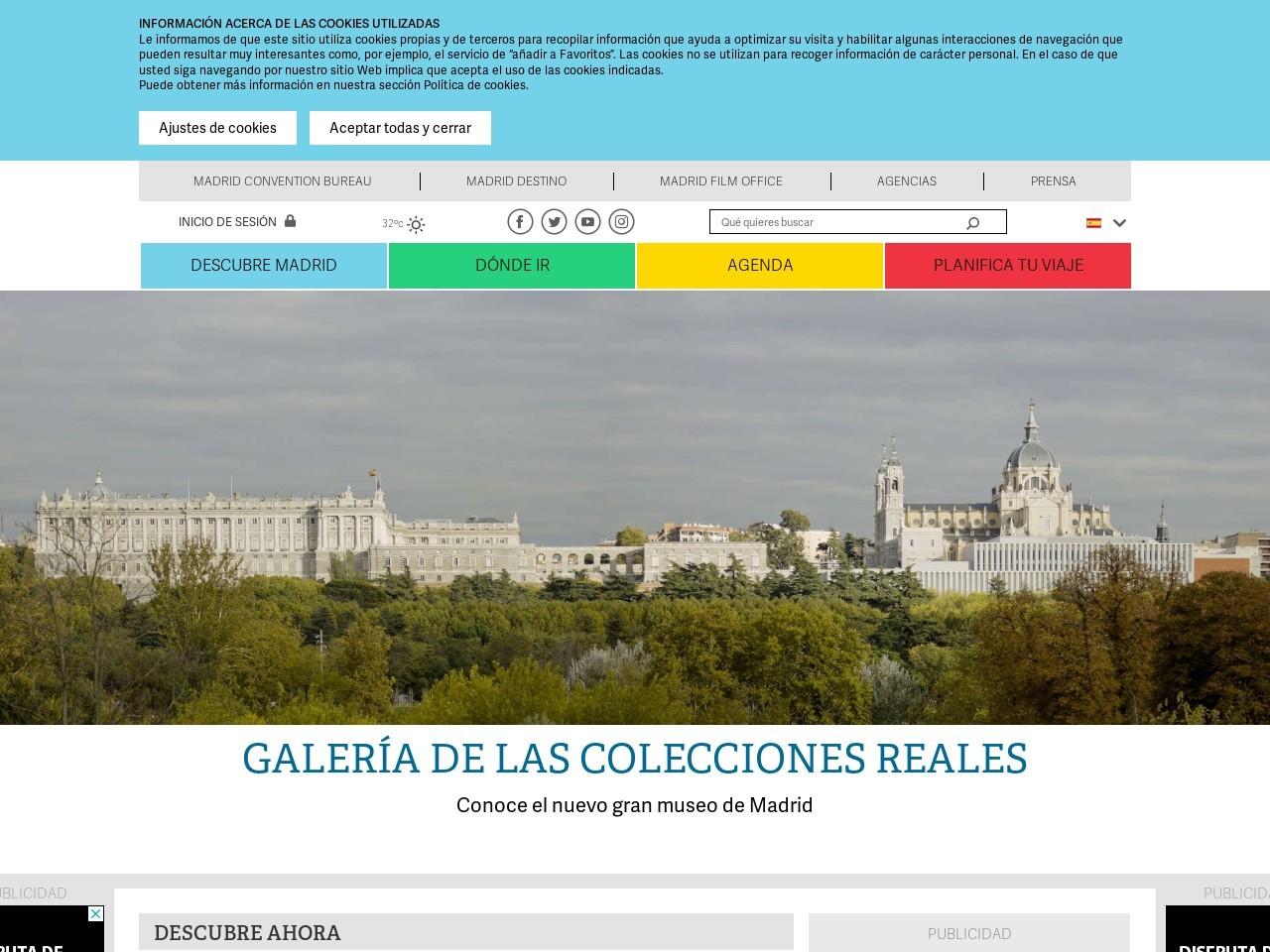 Captura de pantalla de www.esmadrid.com