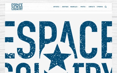 Screenshot of www.espacecountry.com