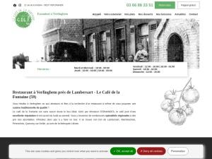 Café de la Fontaine, votre restaurant traditionnel à Verlinghem, près de Lambersart