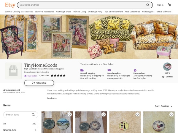 Screenshot of www.etsy.com