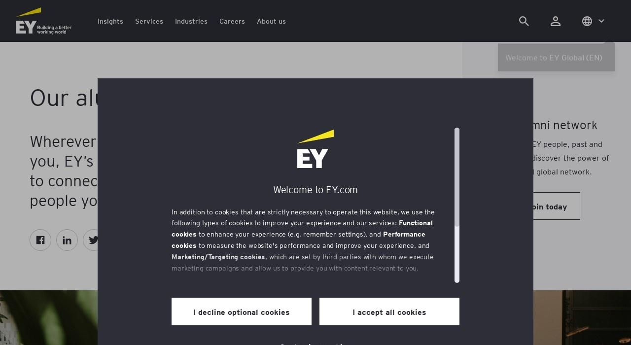 Screenshot of www.ey.com