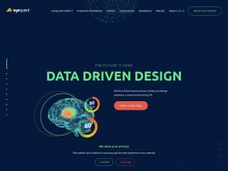 Screenshot of www.eyequant.com