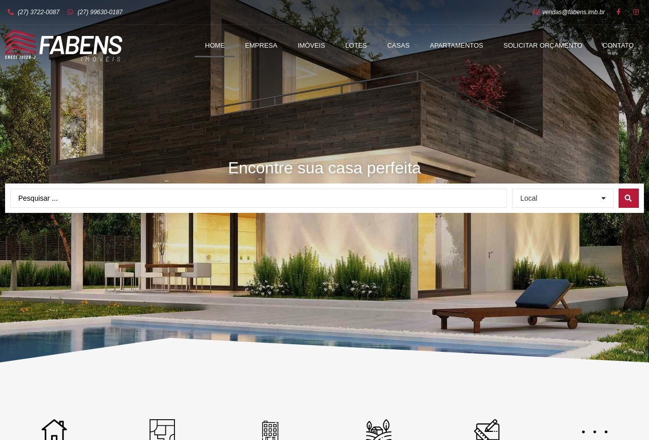 Screenshot of www.fabens.imb.br