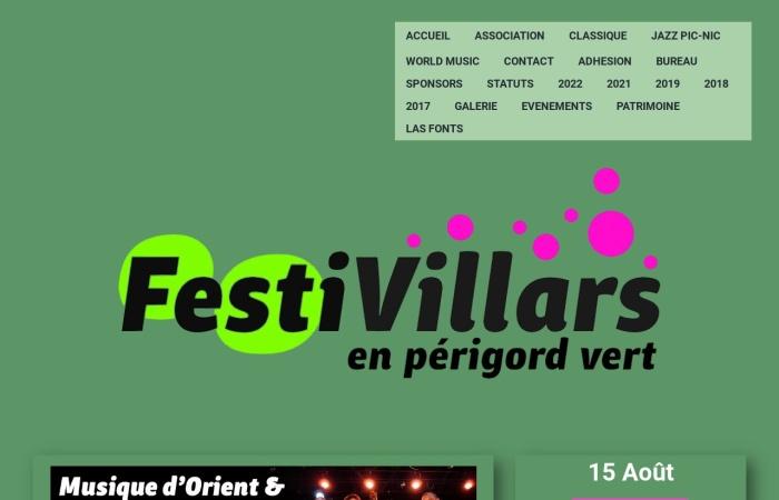 Perigord-infos.fr Festivillars 2021